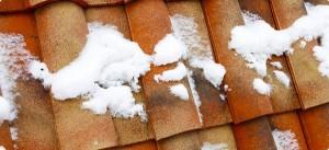 Ремонт на покрив през зимата