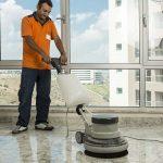 Шлайфане на подове от бетон